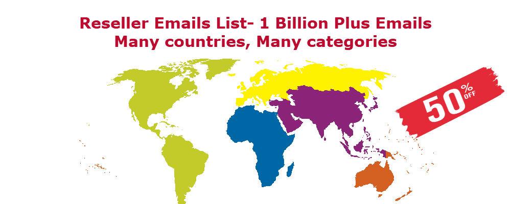 Email List Reseller Program Bulk Email List