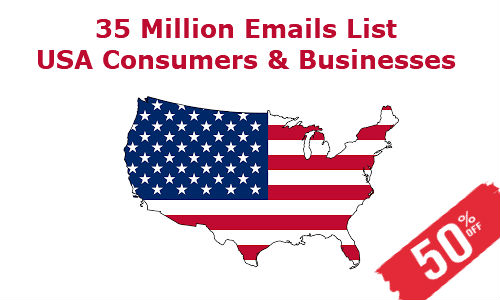 USA Email Database B2B and B2C - Email List-Mailing List-Buy
