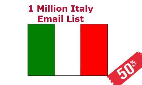 Buy Italy Email List
