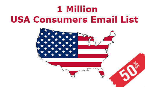 Consumers Email List USA 1M
