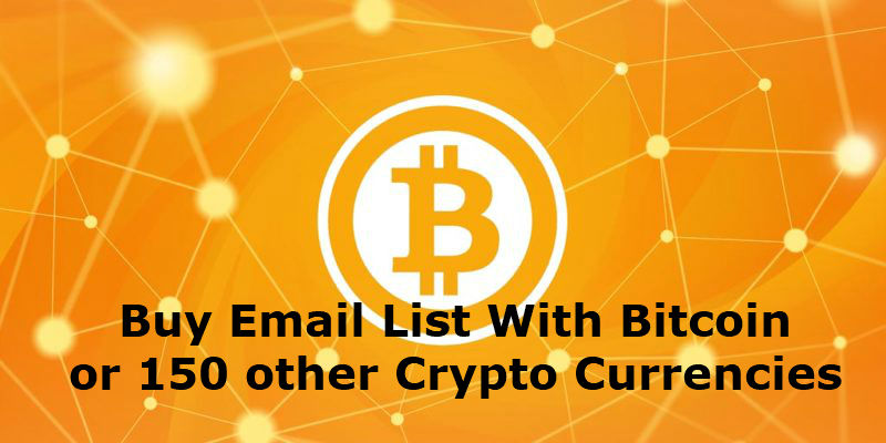 Buy Email List With Bitcoin