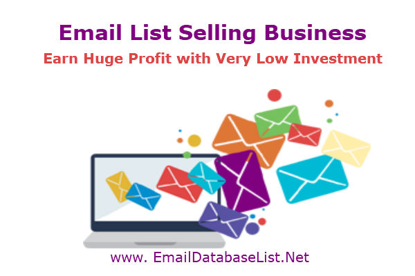 email list selling business
