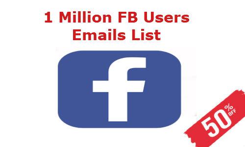facebook email list