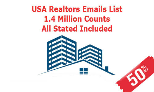 Email List of Realtors USA