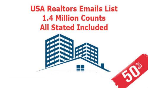 Email List of Realtors USA