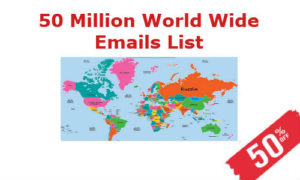 Worldwide Email List International