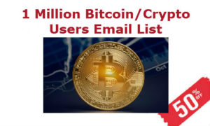 Bitcoin Users Email List