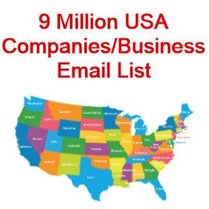 companies email list usa