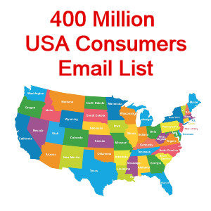 US consumer email database