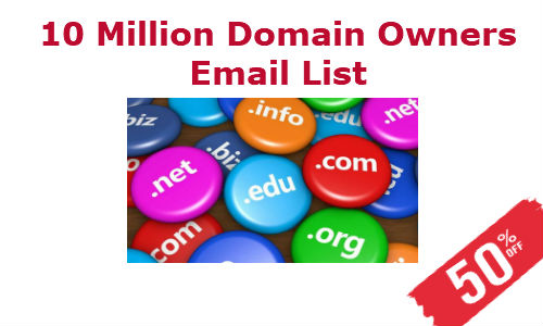 Domain Owners Email List