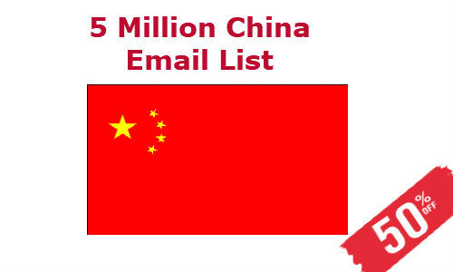 Buy China Email List