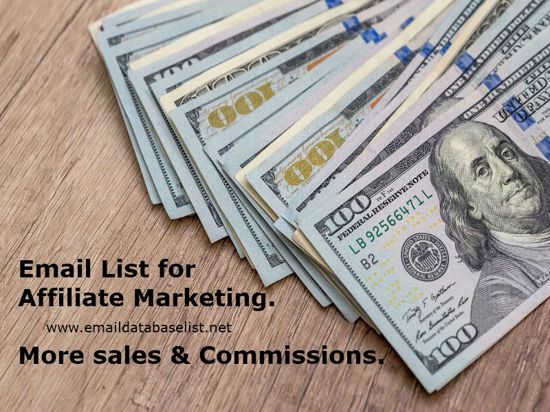 Email List for Affiliate Marketing