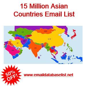 Asia Email Database