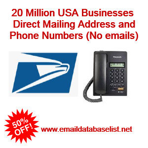 usa direct mailing and phone numbers