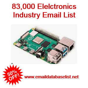 electronic industry email list