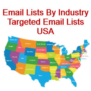 email lists by industry usa