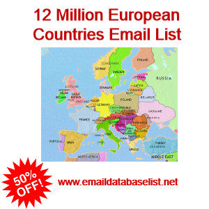 European Email Database