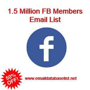 facebook memebrs email lilst