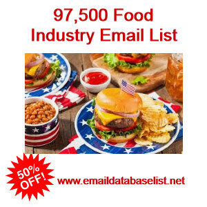 food industry email list
