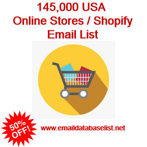 online store shopify stores email list