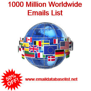 Worldwide emails list