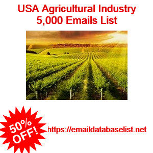 usa agricultural emails list