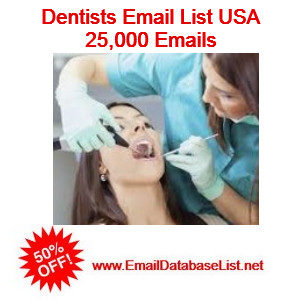 dentist email database usa