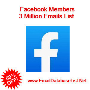 facebook members email list