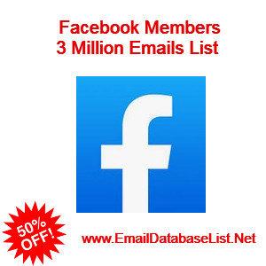 facebook members email list