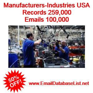 manaufacturers industries