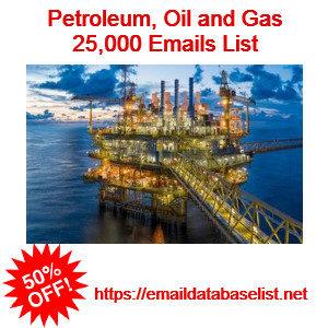 oilgast indsutry emails
