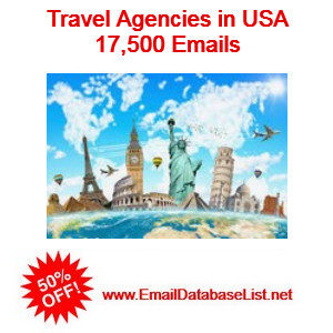 travel agencies email database